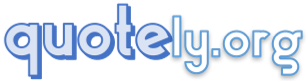 main logo of quotely.org